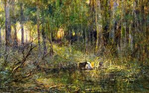 Frederick Mccubbin - Violet and Or