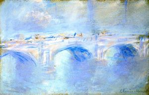 Claude Monet - Pont de Waterloo