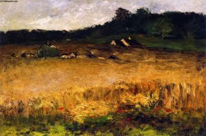 William Merritt Chase - Champ De Blé