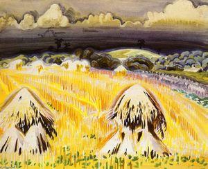 Charles Ephraim Burchfield - Wheatfields