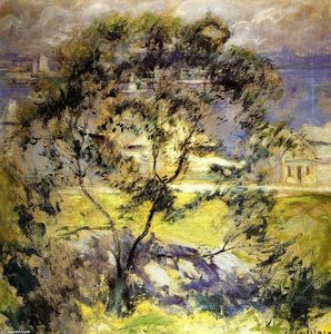John Henry Twachtman - Sauvage Cherry Tree