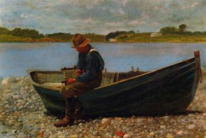 Winslow Homer - Winding Ligne