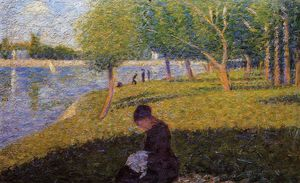 Georges Pierre Seurat - Femme Sewint