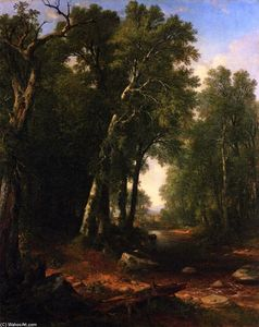 Asher Brown Durand - Woodland Brook