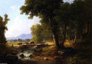 Asher Brown Durand - Woodland Paysage