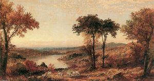 Jasper Francis Cropsey - Wyoming Valley, Pennsylvanie