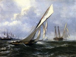 Edward Moran - yacht course