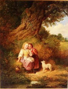 Thomas Faed - The Pet Lamb
