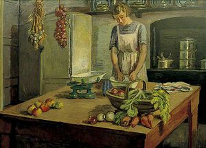 Vanessa Bell - le cuisine a charleston , east sussex