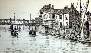 Walter Greaves - swan tavern , Battersea