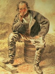 William Henry Hunt - Une Oysterman ,