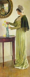 William Henry Margetson - Annonciateurs de printemps