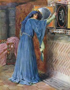 William Henry Margetson - o magie miroir sur le mur