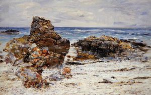 William Mctaggart - chaudron rochers