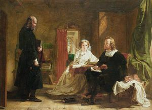William Powell Frith - une question de  la foi