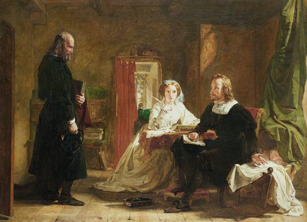 une question de  la foi  de William Powell Frith (1819-1909, United Kingdom) | WahooArt.com