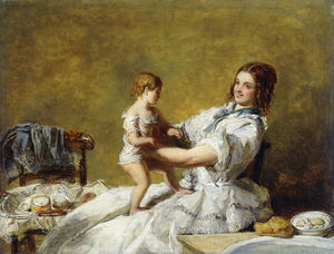William Powell Frith - Heure du coucher