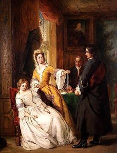 William Powell Frith - amour preuve  -