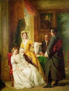 William Powell Frith - amour preuve