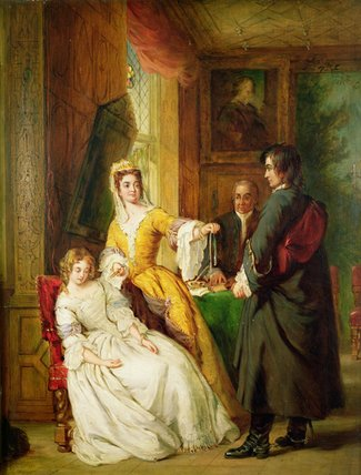amour preuve  de William Powell Frith (1819-1909, United Kingdom) | Reproduction Peinture | WahooArt.com