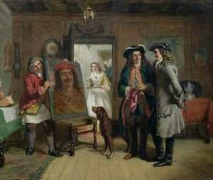 William Powell Frith - Monsieur De roger de coverley et addison