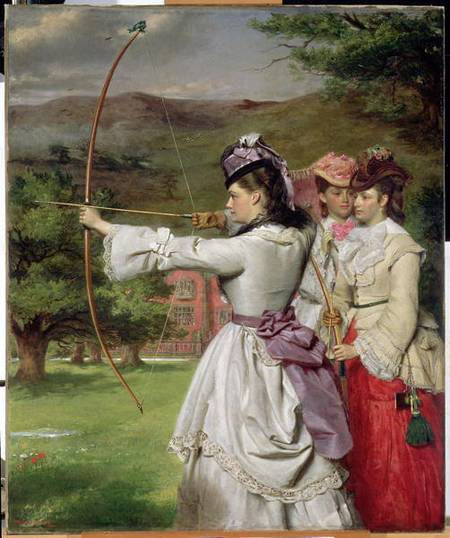 La Foire Toxophilites - de William Powell Frith (1819-1909, United Kingdom)