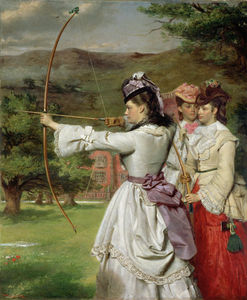 William Powell Frith - Les Toxophilites équitables