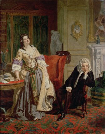 Le rejet poète  -   de William Powell Frith (1819-1909, United Kingdom)