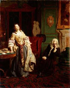 William Powell Frith - Le rejet poète  -