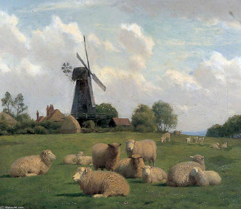Mill Herne de William Sidney Cooper (1854-1927)