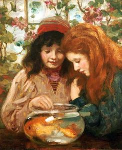 William Stewart Macgeorge - Le Goldfish Bowl
