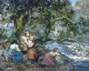 William Stewart Macgeorge - le linn Flaque