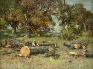 William Stewart Macgeorge - Bois Cutters