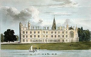 William Westall - Burghley House