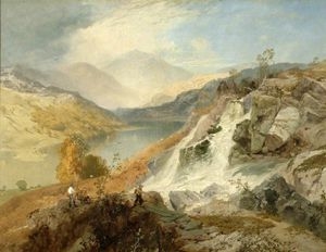 James Baker Pyne - Haweswater De Waller Gill travail