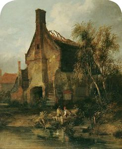 James Stark - Le Gable End Of A Cottage