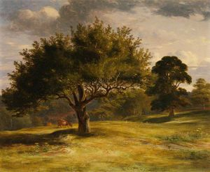 James William Giles - paysage