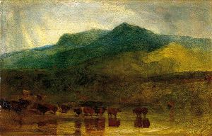 John Sell Cotman - cader idris