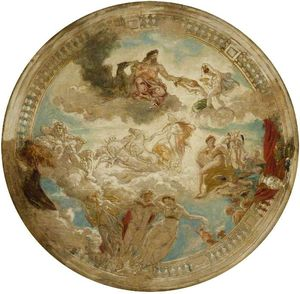 William Etty - design pour un plafond
