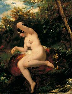 William Etty - nu féminin Madeleine