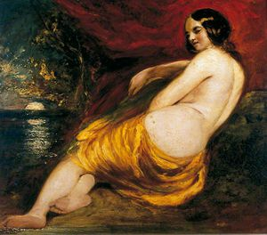 William Etty - nu féminin -