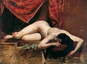 William Etty - nu féminin