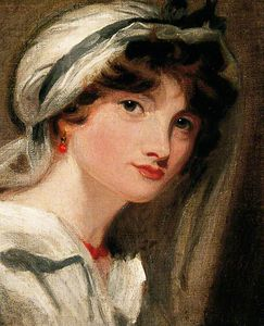 William Etty - La fille de Lady Templeton