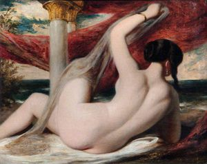 William Etty - Nu