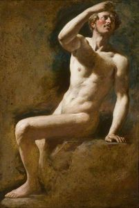 William Etty - Étude d homme nu -