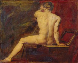 William Etty - étude des masculin  Nu