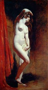 William Etty - le baigneur