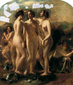William Etty - les Grâces