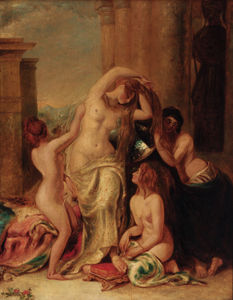 William Etty - le `toilet` des vénus -