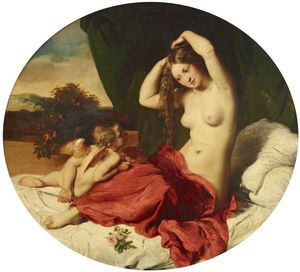 William Etty - le `toilet` des vénus